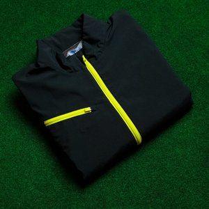 Callaway Weather Series Black w/ Yellow Windshirt